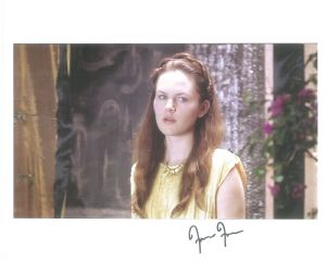 Francesca Fowler from Dr Who The Fires of Pompeii- Genuine Signed Autograph 10010